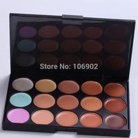 Genuine 15 Color Concealer Foundation Cream Hide Dark Circles Acne Freckles Makeup Necessary