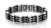 Hot selling free shipping stainless steel bracelets men jewelry fashion steel GS628