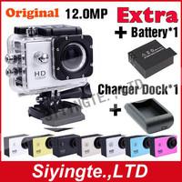 "GoPro Hero 3 Style Original SJ4000 Waterproof Mini Camcorder 1.5"" LCD 12.0 MP H.264  Extreme Sport DVR Action Camera"
