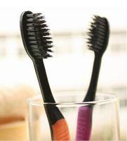 personal oral hygiene health korea nano Soft bamboo Charcoal toothbrush Dental Care escova de dentes for Adults black,
