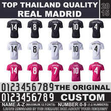 Fast Free Shipping Real Madrid 2015 Soccer Jersey black top thailand quality football jersey Ronaldo Chicharito camiseta Jersey(China (Mainland))