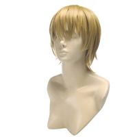 Takagi Akito 30cm Gold Short Heat Resistance Cosplay Anime Wig