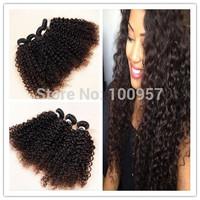 5A Brazilian Curly Virgin Hair 3pcs  Brazilian Deep Wave Curly Hair Weave Funmi Luxy Hair