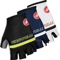 NEW motorcycle gloves Protect Hands Half Finger Italy Castelli scorpion Roubaix motocross bike race riding gloves Suvs gloves
