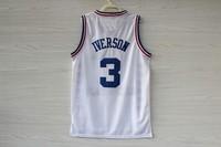 Free Shipping S-XXL Philadelphia #3 Allen Iverson 2003 ALL STAR Jersey, Cheap Allen Iverson Embroidery Basketball Jersey - White