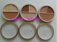 free shipping!New face care Professional 3 Colors Concealer face care primer Makeup Neutral Palette(9pcs/lot)