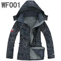 Free Shipping Fashion Women Winter Windproof Waterproof Breathable Jacket Woman Ladies SoftShell Hooded Sports Jacket S-XXL