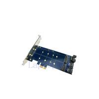 Dual SATA 7pin to NGFF Adapter