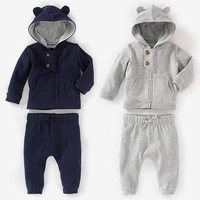 2014 new arrive cotton boys autumn set hoodies+pants kids sport suit cloth set children boys set children clothing set 5sets/lot