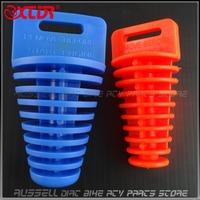 Exhaust Stopper Muffler washing Plug for Wash to Dirt Pit bike ,Motorcycle ,Motorbike ,ATV Parts use 2pcs(1big,1small)