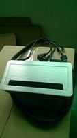 Multifunctional Power Data Grommet Silver  brush desktop socket ,table box,netbox