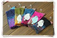 classic socks women free shipping  new women retro winter cotton coarse threads jacquard high long socks  20prs /lot mix colours