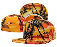 Flower Blank Snapback GALAXY Blank Snapback leopard strapbacks hats , Street Fashion Caps. Hip Pop Dancing Hats.
