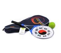 Taiji ball plastic ball aluminum alloy softball tai chi ball soft ball bag Rackets* 2* Plastic balls *1 Racket bag*1