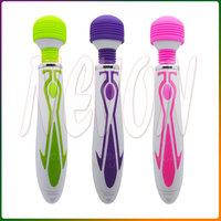 Fashionable Waterproof Multi-speed Vibrating Dynamic Magic AV Wand Vibrator Body Massager, Sex Toys Erotic Adult Products