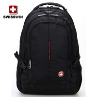 Stock Laptop backpack,Brand Wenger,SwissGear,15.6 inch notebook computer bag, School bag sport backpack with good quality SA9393
