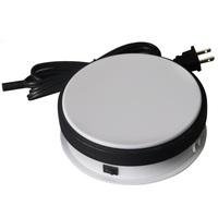 15KG Loading 15cm Rotary Display Stand Rotating Turntable display box shoot talbe