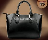 retail HOT!!!New 2014 fashional women genuine leather handbags designe cowhide one shoulder bag messenger bags totes purse