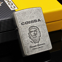 COHIBA Che Guevara Vintage Style Metal Jet Torch Flame Cigarette Cigar Lighter