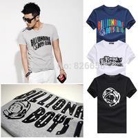 Hot Sale BILLIONAIRE BOYS t shirt man CLUB T-Shirts BBC T Shirt Hip Hop Roll Tshirt