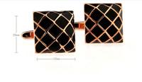 free shipping !male cuff gauze square cufflinks nail sleeve,classic cufflinks