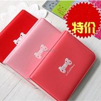Card Holder Case Genuine Leather Cardholder Business Credit ID Checkbook Wallet Cover For Women Men Protector Slot Bag fashion