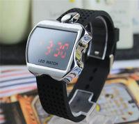 New Men watch Led watch Display sports Unisex watch women boy digital watch black apple design