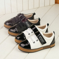 2014 Spring and Autumn Boys leather shoes laces Foot length 16 ~ 22cm