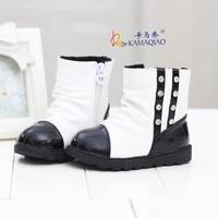 2014 baby girls winter snow boots plus velvet diamond  Foot length 13 ~ 15cm