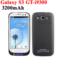 3200mAh External Backup Power Battery Charger Case Pack For Samsung Galaxy S3 i9300 GT-i9300