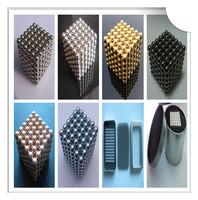 Jamag 10sets 5mm magnet neocube balls nickel coating