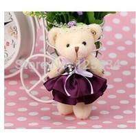2014 new bear doll Phone pendant  plush toys  freeshipping