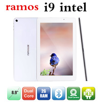 8.9inch Ramos i9 tablet pc Dual core Intel Atom Z2580 2.0GHz Android 4.2 Dual Camera 5.0mp iPS 2GB 1920*1200
