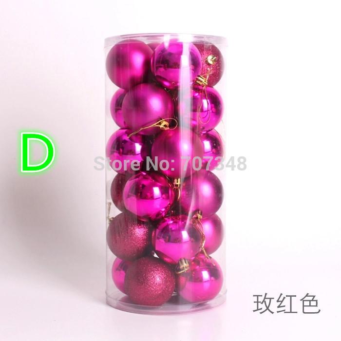 Colorful Decoration Ball Large Christmas Ball Christmas supplies Decorative Christmas Ornaments(China (Mainland))