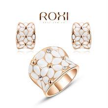 ROXI Brands fashion women jewelry sets, Austrian crystal,Nickeless jewelry sets,free shipping,wholesale ,best Christmas gifts(China (Mainland))