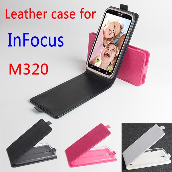 Чехол для для мобильных телефонов None M 320 PU Infocus M 320 For Infocus M320