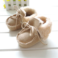 Free shipping 2014 new fashion Boots Baby Booties Winter Ankle First Walkers Shoes