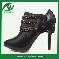 free shipping woman boot  high heel ankle boots