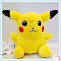 plush pokemon toys,plush toys for children,15cm Pikachu Plush Toys High Quality  Cute Pokemon Plush Toys For Children's Gift
