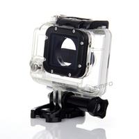 Waterproof Camera Case Transparent Underwater 40m Diving Camcorder Housing Bag For Gopro Hero 3 HD Plus Screw Mount Adapter New