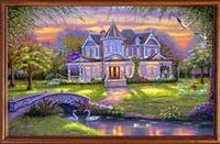 DP302 diy diamond painting square drill whole diamond cross stitch painting rhinestone pasted painting