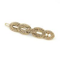 Korean fashion  ladies LO 8 clip edge gold hair pins /hair pins clip /hairpin word folder