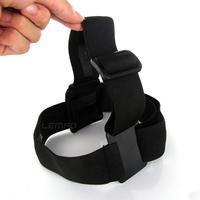 Go Pro Accessories Adjustable Elastic Head Strap Nylon Band Belt Mount For GoPro Hero 1 2 3 with Anti-slide Glue Like Original