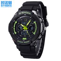 CHBWAH035 Waterproof swim 3rd degree Digital LED Backlight Date Sportwatch waterproof Rubber Unisex /baby Sport Wrist Watch