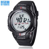 CHBWAH037 Waterproof swim 3rd degree Digital LED Backlight Date Sportwatch waterproof Rubber Unisex /baby Sport Wrist Watch