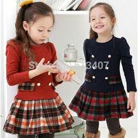 2014 Free shipping 2014 Girls Princess Dress WHM