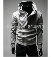 Free Shipping High Collar Men Jacket Top Brand Men Dust Coat Hoodies Clothes Sweater Overcoat Outwear B153