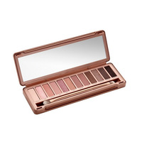 Wholesale 2014 NEW Nake 3 Makeup Eyeshadow Palette Gift. 12 collors NK 3 Eye Shadow Brush Make UP Set