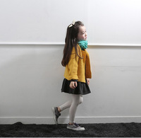 2014 new autumn&winter korean children clothes,pure color girl sweatercoat,2-10yrs baby kids princess tops,high quality my girl