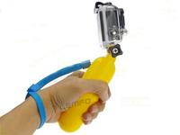 "Floating Bobber Hand Grip Handle Screw Wrist Strap 1/4"" Standard Thread GoPro Accessories For Gopro Hero 1 2 3 3+ 2014 New Hot"